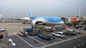Mit arkefly von Amsterdam nach Aruba