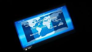 Flugroute von Amsterdam nach Bonaire