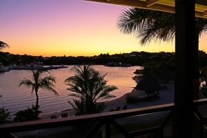 Sonnenuntergang auf Curacao