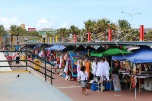 Kleiner Markt in Willemstad