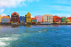 Die bunten Häuser von Curacao