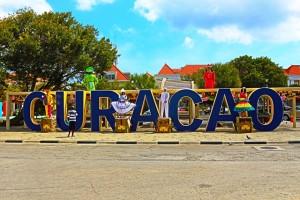 Schriftzug Curacao
