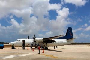 Flug nach Bonaire - Mit der Fokker 50 ab Curacao