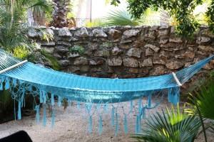 Boardwalk Hotel Aruba: Hängematte